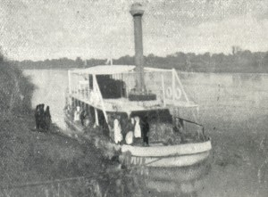 "Stern wheeler ""Sir Harry Johnston"" 1899"