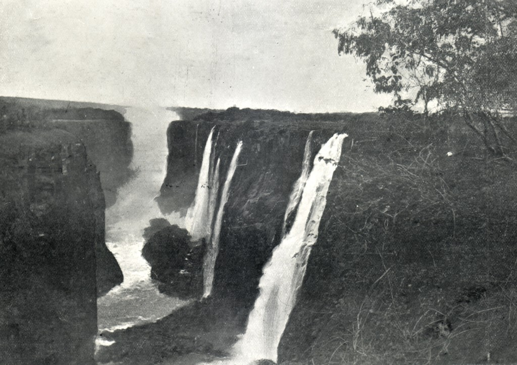 The Victorian Falls in 1899